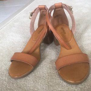 "Express 2"" Block Heel strappy Sandal"